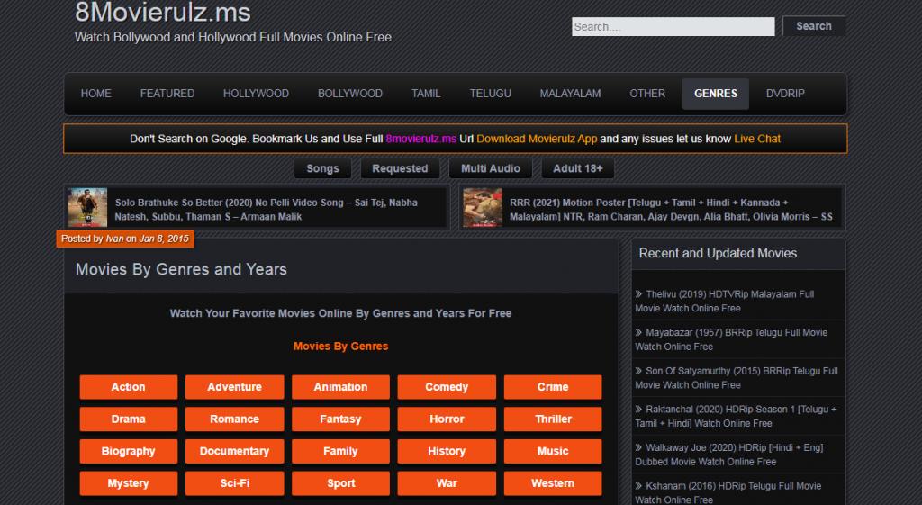 Download Movies From MovieRulz Telugu